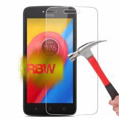 Rainbow Tempered Glass Motorola Moto E4 / Anti Gores Kaca Screen Protector / Pelindung Layar Hp / Temper Motorola  - Clear