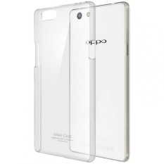 Rainbow Ultrathin Jelly Case Oppo R1X R8207 Clear Luxury Soft Case  Anti Jamur Air Case 0.3mm / Silicone Oppo R8207 / Softshell Silikon Case Hp -  Transparant