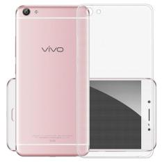 Rainbow Ultrathin Jelly Case Vivo V5 / y67 Clear Soft Case Vivo V5 Anti Jamur Air Case 0.3mm / Silicone / Softshell Silikon Case Hp / Casing Vivo  -  Transparant