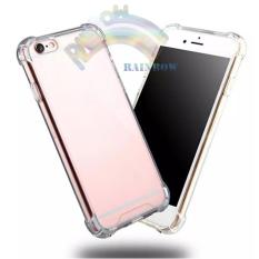 Rainbow Vivo Y55 Soft Case List Anti Shock Anti Crack - Transparant