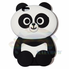 Rainbow Vivo Y67 Silicone Softcase 3D Boneka Panda Chubby Imut / Case HP / Silikon HP / Softcase Kartun / Soft Back Case Unik Lucu / Case Karakter Funny  / Casing Hp / Casing Vivo - Panda Gemes