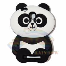 Rainbow Xiaomi Redmi 3S Silicone Softcase 3D Boneka Panda Chubby Imut / Case HP / Silikon HP / Softcase Kartun / Soft Back Case Unik Lucu / Case Karakter Funny  / Casing Hp / Casing Xiaomi - Boneka Panda