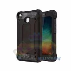 Rainbow Xiaomi Redmi 4X Soft Case Ultra Rugged Capsule Slim Air Cushion Tecknologi Line Glossy Design & Spider Interior  Anti Slip Anti Shock / TPU Silikon Back Cover / Silicone Case / Softshell / Case Hp / Back Cover / Casing Xiaomi- Hitam
