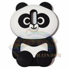 Rainbow Xiaomi Redmi Note 4X Silicone Softcase 3D Boneka Panda Chubby Imut / Case HP / Silikon HP / Softcase Kartun / Soft Back Case Unik Lucu / Case Karakter Funny  / Casing Hp / Casing Xiaomi - Boneka Panda Gemes
