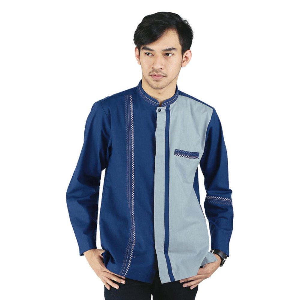 Spesifikasi Raindoz Baju Koko Katun Lengan Panjang Pria Rdh 050 Lengkap Dengan Harga