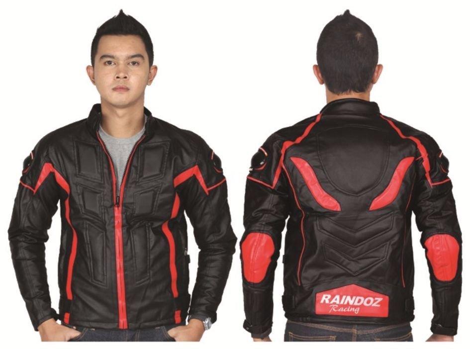 Ulasan Lengkap Tentang Raindoz Jaket Biker Sintetis Ral 013 Hitam