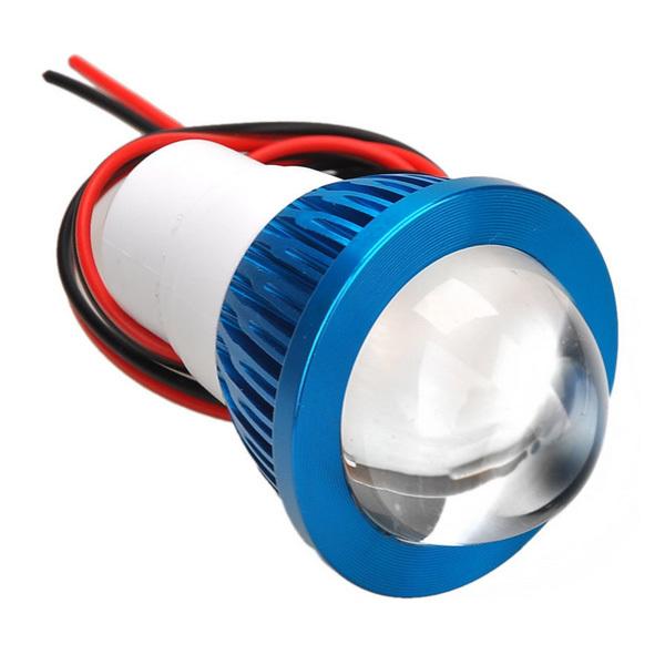 Review Toko Rajamotor Luxeon Lampu Led Tembak Lis Gerigi Biru
