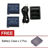 Model Rajawali 2 Buah Battery Dan Charger For Gopro Hero 4 Silver Black Complete Set Gratis 2 Buah Battery Case Terbaru
