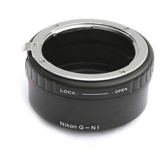 Rajawali Adapter Nikon G Lens to Nikon 1 Body for Nikon J1/J3/J5/V1/V3
