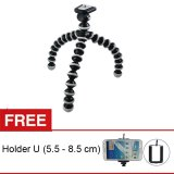 Review Terbaik Rajawali Flexibel Tripod Gorillapod Hitam Free Holder U