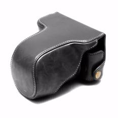 Rajawali Leather Case For Fujifilm X A3 Hitam Rajawali Diskon 40