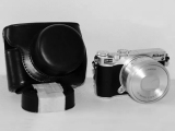 Beli Rajawali Leather Case For Nikon J5 Black Kredit