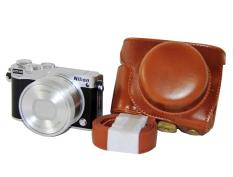 Harga Rajawali Leather Case For Nikon J5 Cokelat Online