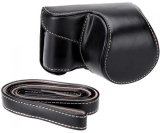 Spesifikasi Rajawali Leather Case For Sony Alpha A5000 A5100 Hitam Terbaru