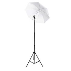 Rajawali Light Stand + Flash Holder + Payung Transparant 33