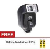 Dapatkan Segera Rajawali Mini Flash Universal Cy 20 For Dslr Mirrorless Battery Aa Alkaline