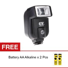 Promo Rajawali Mini Flash Universal Cy 20 For Dslr Mirrorless Battery Aa Alkaline Di Jawa Barat