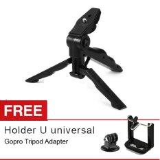 Rajawali Mini Tripod + Gimbal Stabilizer (2 in 1) + Gratis Gopro/Xiaomi Adapter + Holder U Smartphone