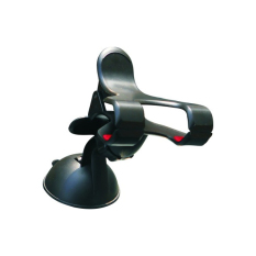 Rajawali Phone Car Holder with Suction-Double Clip- Hitam