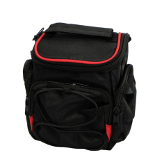 Rajawali Prosumer Camera Bag S-07 Hitam Garis Merah for Nikon L320 - 330 - Canon SX510 - 520 - 400 - Sony H200-300