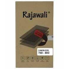 Rajawali Tempered Glass / Screen Protector For Canon EOS 70D/80D