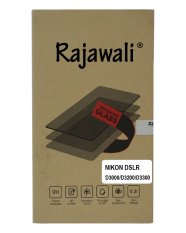 Rajawali Tempered Glass / Screen Protector For Nikon D3100/3200/3300