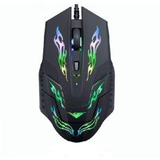 Beli Rajfoo I5 Optical Wired Usb Gaming Mouse 4 Shift Dpi With Led Light Black Online Murah