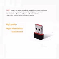 Ralink RT5370 802.11n 150 Mbps LAN Nirkabel Penerima Satelit Wifi Driver Adaptor USB untuk IPTV/PC (Hitam) -Intl