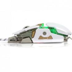 Rama G10 Mesin Game Metal Custom Pemrograman Makro Game Mouse Putih-Intl