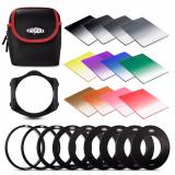 Beli Rangers 12X Graduated Neutral Density Nd Color Filter Set For Cokin P Rangers