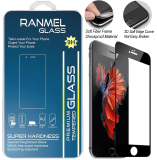 Harga Ranmel Glass Tempered Glass For Iphone 7 Plus Black Ranmel Glass Terbaik