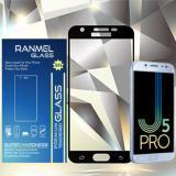 Beli Ranmel Glass Tempered Glass Premium Untuk Samsung Galaxy J5 Pro Full Anti Gores Hitam Baru