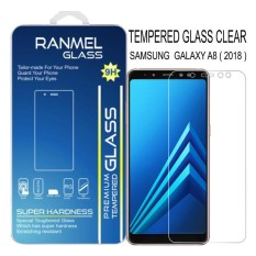 Ranmel Tempered Glass Screen Protector for Samsung A8 2018