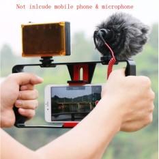 Promo Toko Ranwd Ulanzi Smartphone Video Handle Rig Pembuatan Film Stabilizer Case Film Video Youtube Mendapatkan Led Light Rode Videomicro Mikrofon Dengan Mini Led Video Light