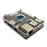 Promo Raspberry Pi 2 Black White Acrylic Case Model B Pcba Akhir Tahun