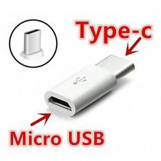 Rated Converter Type C / Micro USB to Type C / Konektor Type C - Putih