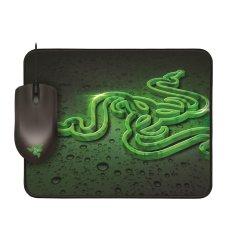 Harga Razer Abyssus 1800 Gaming Mouse Bundle With Razer Goliathus Speed Hitam Asli