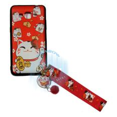 RB Silikon Samsung Galaxy J2 Prime Anti Crack Samsung Galaxy J2 Prime Kucing Hoki / Kucing Hoki Soft Case / Softcase Samsung J2 Prime Lucky Cat / Case Maneki Neko Lucky Cat + FREE Kalung Tangan Lucky Cat - 1
