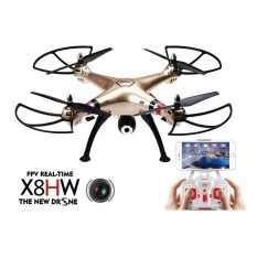 RC Quadcopter Syma X8HW WIFI FPV Real-time Headless Drone With HD Camera 2.4Ghz 6 Axis Gyro