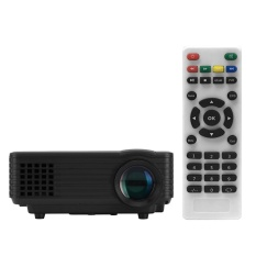 RD-805 Full Color 100�\x9D LED Projector 800 Lumens 1080P 1000 : 1Contrast Ratio Projection Machine with HD VGA AV USB RemoteController for NoteBook Laptop Tablet PC Smartphone US Plug - intl