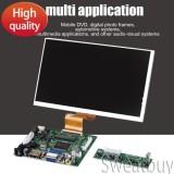 Promo Toko Ready Stock 7 50Pin Resolusi Tinggi 1024X600 Tampilan Layar Hdmi Vga 2Av Driver Board Untuk Raspberry Pi Intl