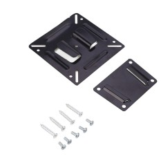 Ready Stock Audio Electronics LCD LED Plasma Flat TV Wall Mount Bracket Stand Adjustment Fixed 14-24 ''11 -15 Kg-Intl