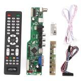 Ulasan Lengkap Tentang Ready Stock Audio Electronics Tv Hdmi Vga Av Usb Audio Lcd Controller Board Modul Dukungan 1920X1080 Internasional