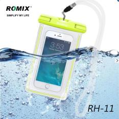 [READY STOCK - High Quality - FAST DELIVERY] ROMIX Waterproof Case, New Type PVC Waterproof Phone Case, Universal Dry Bag for iPhone X/8/ OPPO/ VIVO / Galaxy/ LG/ HTC