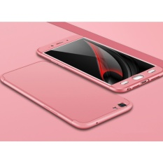 Siap Stok-Jen Case Oppo F1S/A59 GKK Mewah 360 Gelar Penuh Perlindungan Ultra Tipis Pelindung Buah keras Case KO4L1M (Warna: hitam)-Internasional