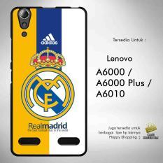 Real Madrid 7 Casing Custom Lenovo A6000 / A6000 Plus Case Cover