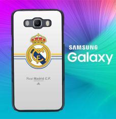 Real Madrid Logo J0382 Casing Custom Hardcase Samsung Galaxy E5 2015 Case Cover