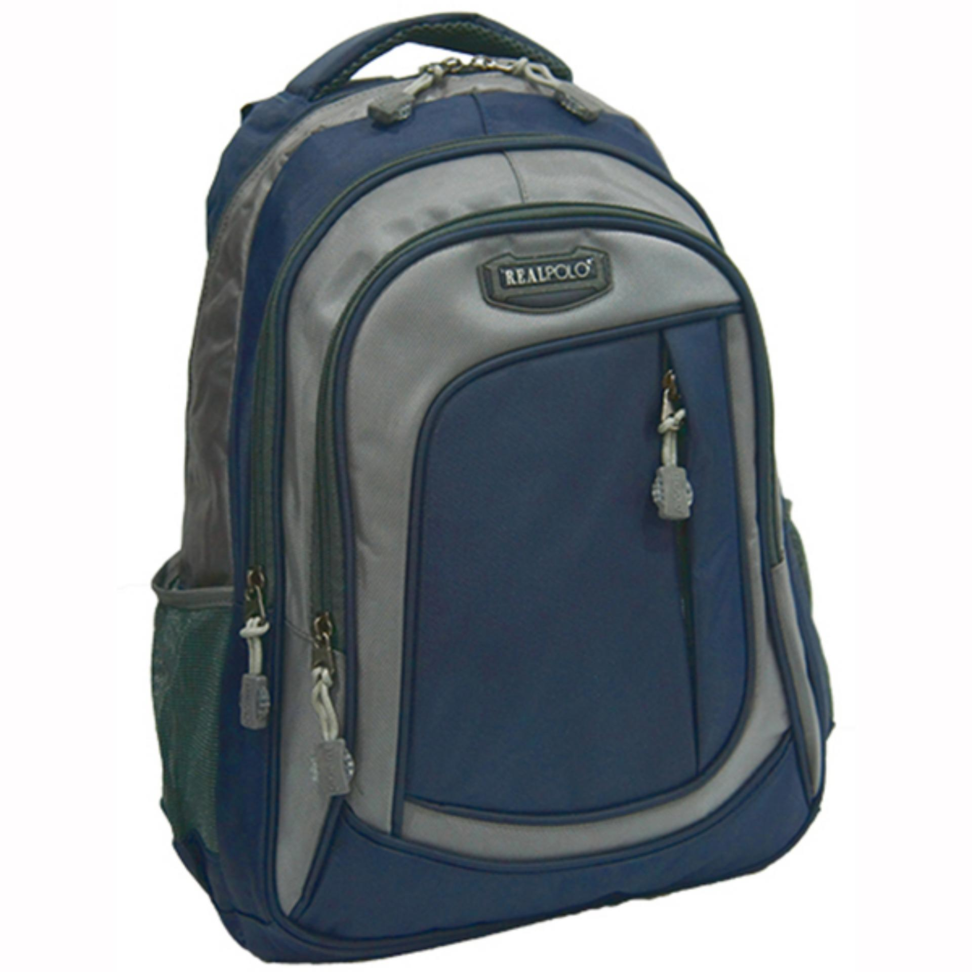 Beli Real Polo Tas Ransel Kasual 6287 Backpack Daypack Biru Nyicil