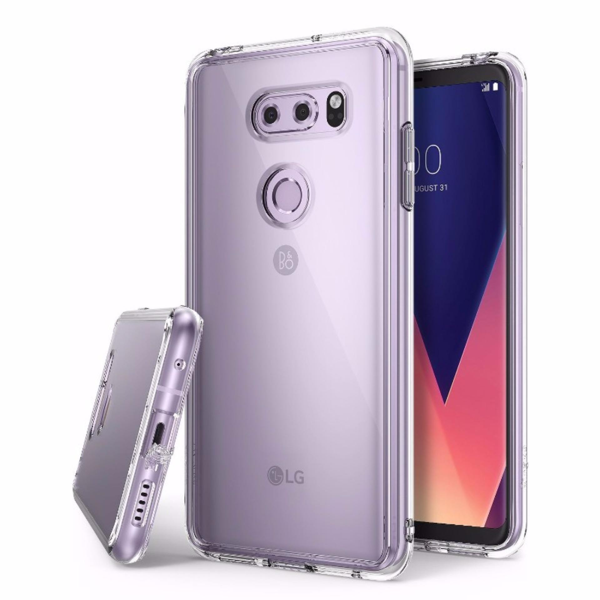 Promo Toko Rearth Lg V30 Case Ringke Fusion Clear
