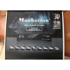 Receiver Manhattan 6900 USB Smart 3D Combo Support DVB-S2/C/T2
